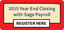 2015 Year End Sage Payroll