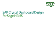 SAP Crystal Dashboard Design for Sage HRMS
