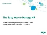 The Easy Way To Manage HR Guide