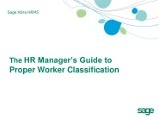 The HR Manager's Guide to Proper Worker Classification