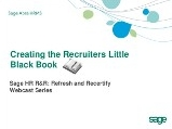 Creating the Recruiters Little Black Book