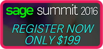 Sage Summit 2016 - Register Here!
