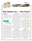 CPA Tech Advisory - Best Software, Inc. - Sage HRMS Payroll
