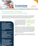 Cornerstone Analytics and Reporting