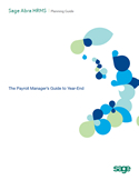 The Payroll Manager's Guide to Year-End